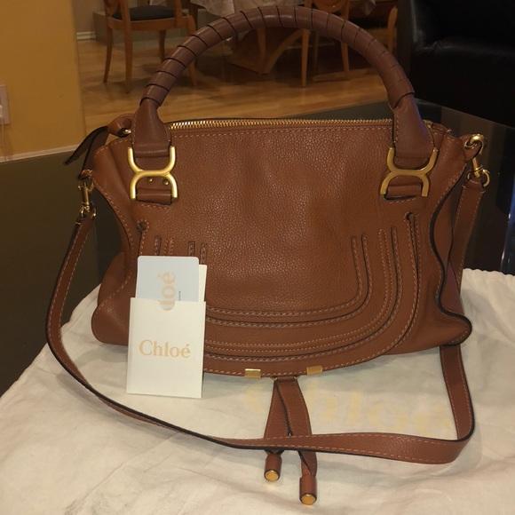 65ed6569 Chloe Marcie Handbag with Authenticity card